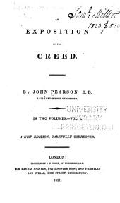 An Exposition of the Creed ...