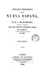 Ensayo político sobre Nueva España, 5