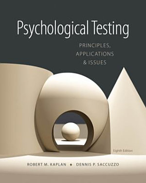 Psychological Testing  Principles  Applications  and Issues PDF