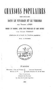 Chansons populaires recueillies dans le Vivarais et le Vercors