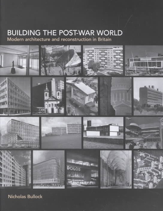 Building the Post-war World