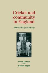 Cricket and community in England PDF