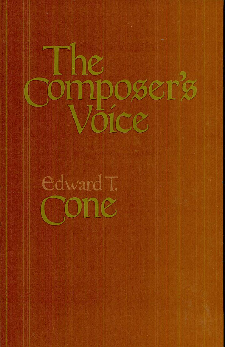 The Composer's Voice