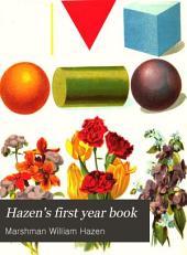 Hazen's First Year Book