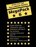 Super Fun Time MEGAPACK 6 - Halloween Coloring Books