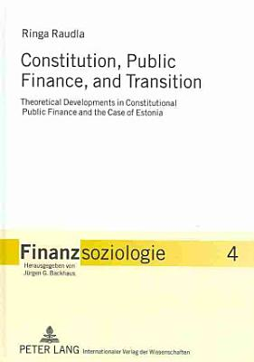 Constitution  Public Finance  and Transition PDF