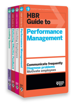 HBR Guides to Performance Management Collection  4 Books   HBR Guide Series  PDF