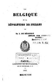 La Belgique et la révolution de juillet