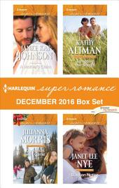 Harlequin Superromance December 2016 Box Set: A Mother's Claim\Christmas with Carlie\Tempting the Sheriff\Boss on Notice