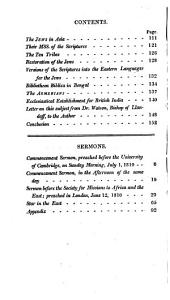 Christian Researches in Asia: With Notices on the Translation of the Scriptures Into the Oriental Languages ; to which are Added, The Eras of Light : Being Two Discourses Preached Before the University of Cambridge, on Commencement Sunday, July 1, 1810 ; A Sermon Preached Before the Society for Missions to Africa and the East, at Their Tenth Anniversary, July 12, 1810 ; And, The Star in the East : a Sermon Preached in the Parish Church of St. James, Bristol, on Sunday February 25, 1809, with an Appendix, Containing an Account of 200,000 Christians Discovered in the Sequestered Region of Hindostan