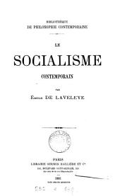 Le socialisme contemporain: Volume 25