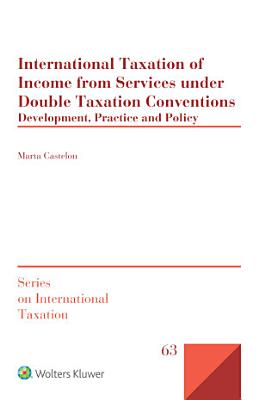 International Taxation of Income from Services under Double Taxation Conventions PDF