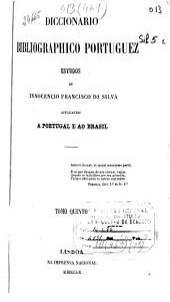 Diccionario bibliographico portuguez: J-M (1860. 487 p.)