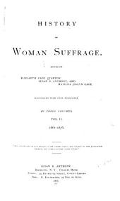 History of Woman Suffrage: Volume 2