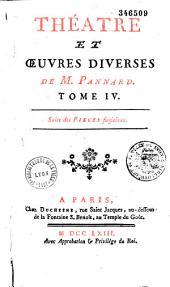 """Théâtre et Oeuvres diverses de M. Pannard [""""sic""""]..."""