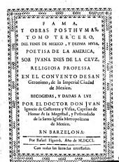 Fama, y obras posthumas: Volumen 3