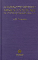 A Bibliography of Articles on Armenian Studies in Western Journals  1869 1995 PDF
