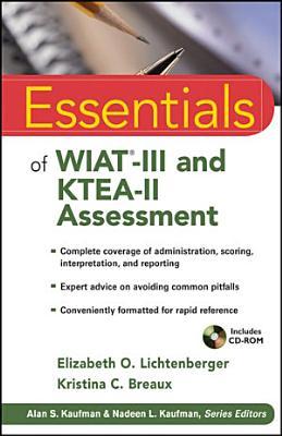 Essentials of WIAT III and KTEA II Assessment PDF