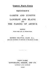 Gareth and Lynette, Lancelot and Elaine and The Passing of Arthur