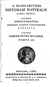 C. Plinii Secundi Historiae naturalis libri XXXVII.: Liber XXV-XXXVII. Index emendationum
