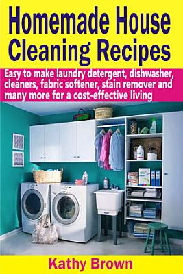 Homemade House Cleaning Recipes PDF