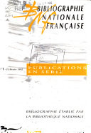 Bibliographie nationale fran  aise PDF