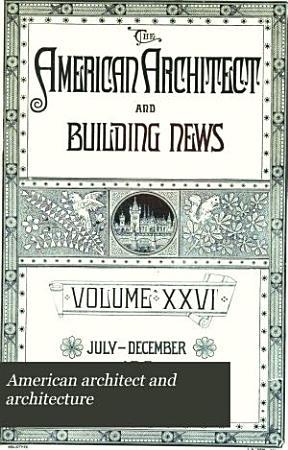 American Architect and Architecture PDF