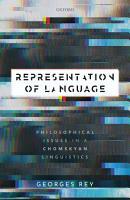 Representation of Language PDF