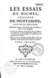 Les essais de Michel seigneur de Montaigne