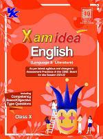 Xamidea English Language and Literature for Class 10 - CBSE - Examination 2021-22