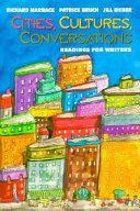 Cities  Cultures  Conversations Book