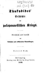 Thukydides' Geschichte des peloponnesischen Kriegs: 3
