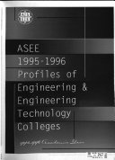ASEE ... Profiles of Engineering & Engineering Technology Colleges