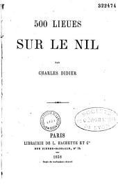 500 Lieues Sur Le Nil
