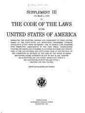 The Code of the Laws of the United States of America of a General and Permanent Character in Force December 7  1925 PDF