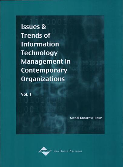 Issues   Trends of Information Technology Management in Contemporary Organizations PDF