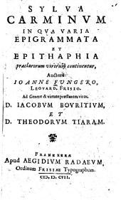 Sylva Carminvm
