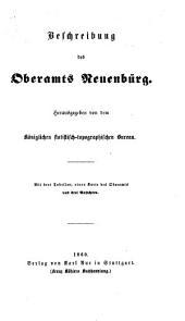 Beschreibung des Oberamts Neuenbürg