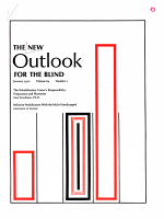 The New Outlook for the Blind PDF