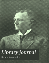Library Journal: Volume 36