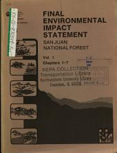 San Juan National Forest (N.F.), Land and Resource(s) Management Plan (LRMP): Environmental Impact Statement, Volume 1