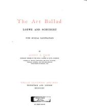The Art Ballad: Loewe and Schubert with Musical Illustrations