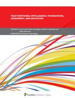 Trait Emotional Intelligence  Foundations  Assessment  and Education PDF