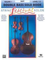 String Festival Solos  Vol 1  Double Bass Solo PDF