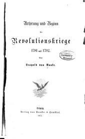 Ursprung und Beginn der Revolutionskriege, 1791 und 1792