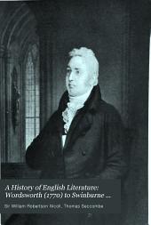 Wordsworth (1770) to Swinburne (1837)