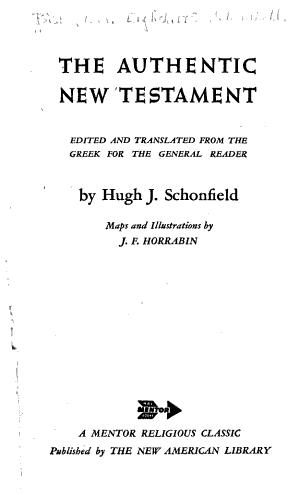 The Authentic New Testament PDF