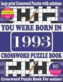 You Were Born in 1993