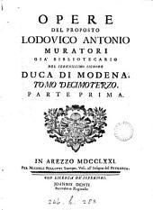 OPERE DEL PROPOSTO LODOVICO ANTONIO