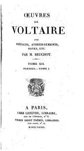 Oeuvres de Voltaire: Volume12